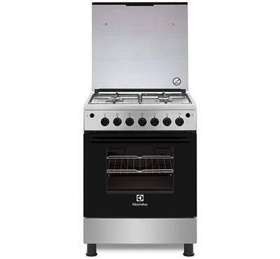 Electrolux 60x60 Gas Cooker, 4 Burners, Full Safety, Stainless Steel.