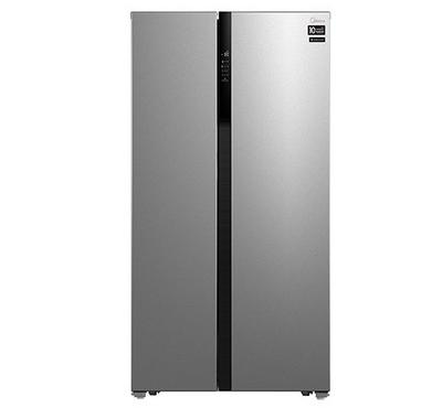 Midea  SBS Fridge, Infinite Inverter Compressor,832.0L,  623L Net Capacity,Silver