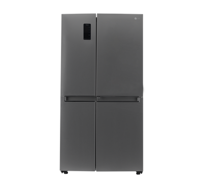 LG Side by Side Refrigerator,28.1 Cu.ft,Wifi, Platinum Silver