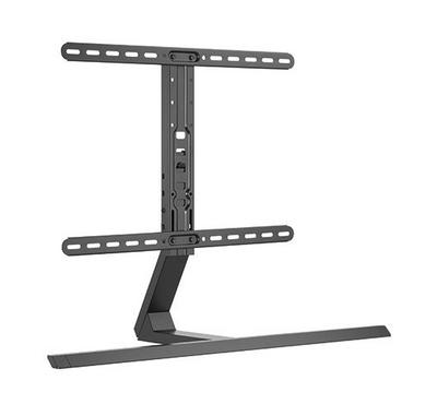 Brateck, Contemporary Aluminum Pedestal Tabletop TV Stand, from 37 to 75, Max wight 45 KG