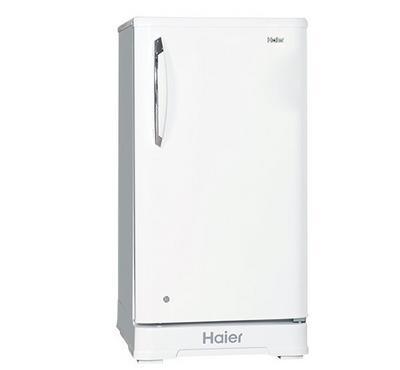 Haier Refrigerator 5.3 Cu.Ft.,Single Door, White