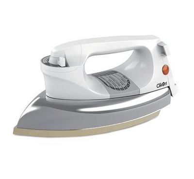 Clickon Dry Iron Heavy Duty 1200W White.