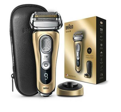 Braun Series 9 Electric Shaver 4 Shaving Elements,Rechargeable,Gold.