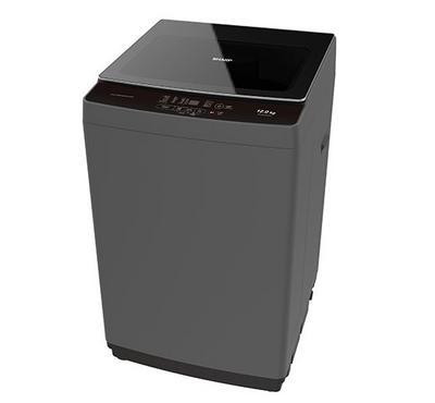Sharp Washing Machine Top Load, 12 KG, Dark Silver