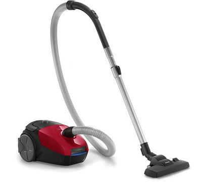 Philips PowerGo 3.0L Canister Vacuum Cleaner 1800W Red