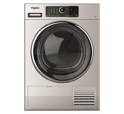 Whirlpool Condenser Clothes Dryer,8.0KG, 2700W, Silver