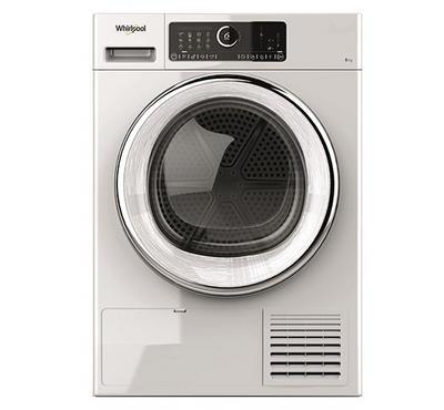 ويرلبول مجفف ملابس، 8 كيلو، بنظام المكثف، أبيض