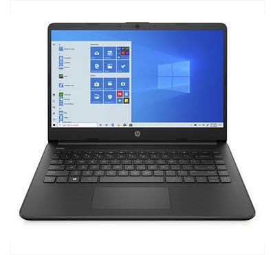 HP Notebook 14, Core i3, 14 inch, 4GB RAM, 128GB SSD,  Jet Black