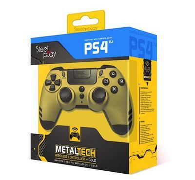 Steelplay, Metaltech PS4 Wireless Controller, Gold