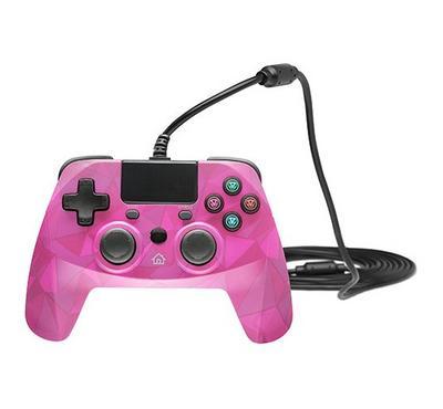 Snakebyte PS4 Controller, Bubblegum Pink