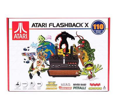 Atari Flashback X, 110 Built-in Games, Black