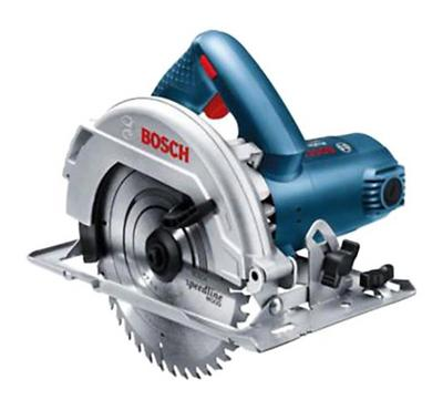 Bosch Hand Circular Saw 184 MM, 1100 Watts and MM Bore Dia, Blue