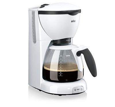 Braun CafeHause PurAroma,Coffee Maker Plastic, 2.8L , 1000W, White.