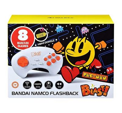 Bandai Namco Flashback Blast, 8 Built-in Games, Black