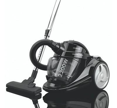 كينوود مكنسة كهربائية، 2.5 لتر، 2200 واط، أسود