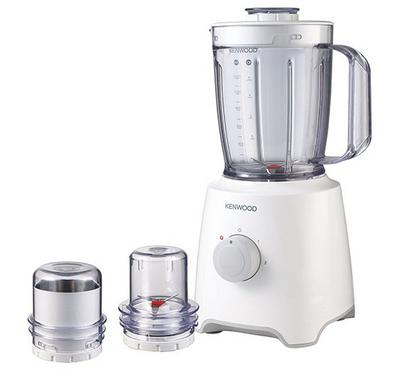 Kenwood Blender With 2 Mills Plastic,1.2L , 400W, White