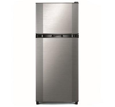 Hitachi Fridge Top Mount Freezer,240.0L ,No Frost, Silver.