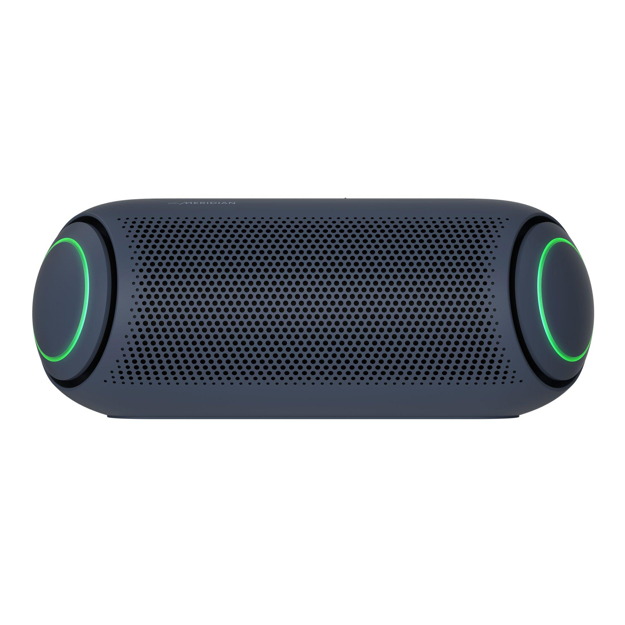 LG Xboom Go PL9 Portable Bluetooth Speaker with Meridian Audio Technology,  Black
