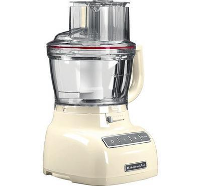 KitchenAid 3.1L Food Processor, Almond Cream
