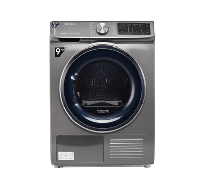 Samsung Tumble Dryer, 9kg, Heat Pump Condensing, Digital Inverter, Wifi ,Inox