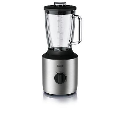 Braun PowerBlend 3, Blender, 1.5L, TriAction Technology, 800W, Premium Stainless Steel
