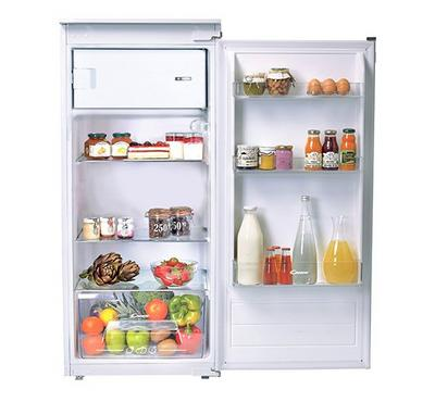 Candy 205 Ltr Builtin Fridge, One door, Manual Defrost , Led lights, White.