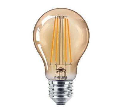 Philips, 5.5-48 W CLA LED Bulb, ND A60 E27, Gold