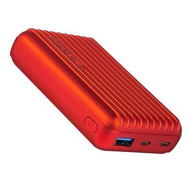 Promate TITAN 10C Power Bank 10000mAh Red