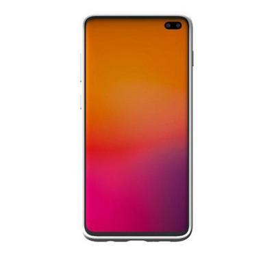Araree TYPO-SKIN Galaxy S10 Plus Mobile Back Cover Case White