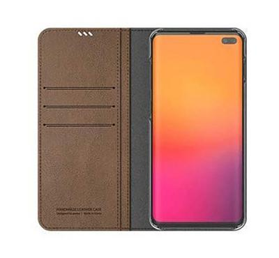 Araree MUSTANG DIARY Galaxy S10 Plus Mobile Folio Case Brown