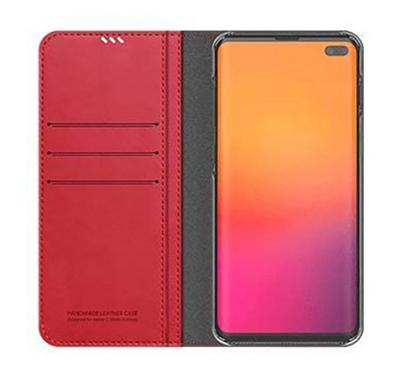 Araree MUSTANG DIARY Galaxy S10 Plus Mobile Folio Case Red