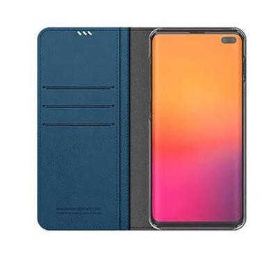 Araree MUSTANG DIARY Galaxy S10 Plus Mobile Folio Case Blue.