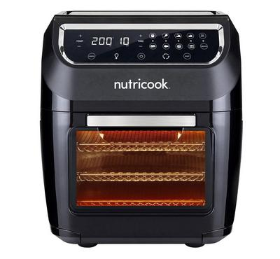Nutricook, Smart Digital Air Fryer Oven With Convection, 1800W, 12 L, Black