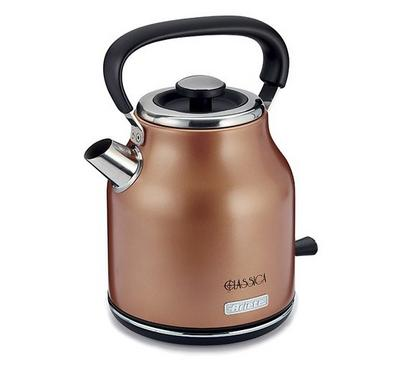 Ariete Classica Kettle, Cordless 360 Power, 1.7L, 1850-2200W, Copper.