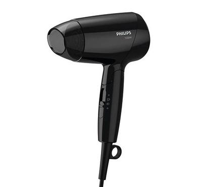 Philips Hair Dryer, 1200W with ThermoProtect and Cool Shot features,Black