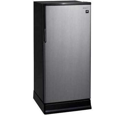 Hitachi Fridge Single Door No Frost,200.0L Cross,187L Net Capacity, Silver