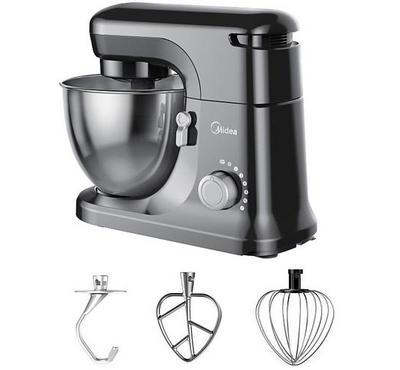 Midea Stand Mixer Kitchen Machine, 4.5L, 400W, Steel.