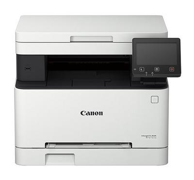 Canon, 3-in-1 Color Laser Printer, Print, Scan, Copy, 5 Inch Touch Display, White