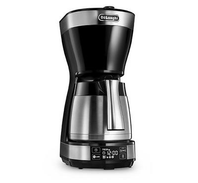 DeLonghi Digital Steel Jug Drip Coffee Maker, 1000W, 1.25L, 10 cups