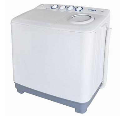 Fisher Twin Tub Washing Machine 8 Kg, Plastic Body ,Color