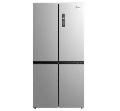 ميديا ثلاجة باب جانب باب، الحجم الكلي 544 لتر، الحجم الصافي 469 لتر، إنوكس