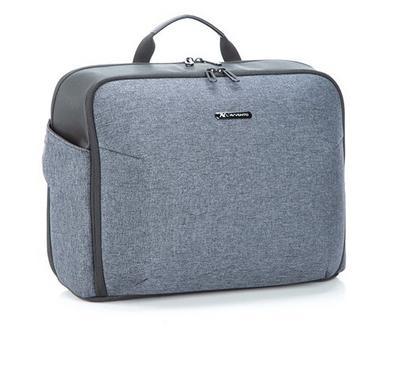 Lavvento, Business Cross style Laptop Bag 15.6 inch, Grey