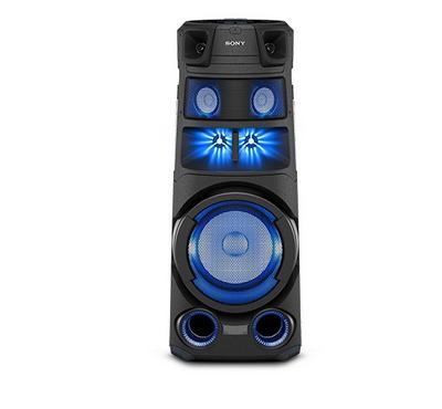 سوني في83، مكبر صوت، نظام هاي فاي ، بلوتوث ، ميكروفون مدمج ، أسود