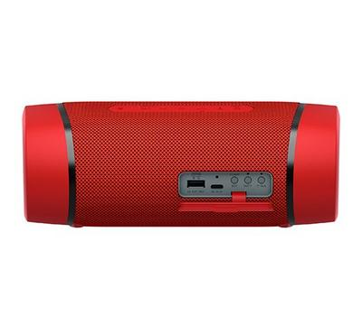 Sony Bass Boosted Bluetooth Portable Speaker IP67 Waterproof, Red