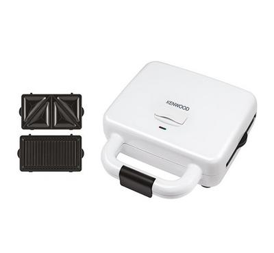 Kenwood Sandwich Maker, 700W, 2 Slots, White
