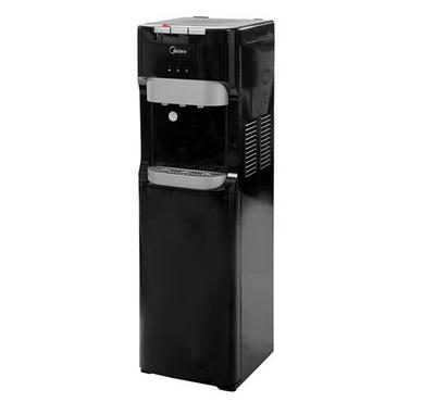 Midea, Bottom Loading Water Dispenser, 3 TAP, Hot, Normal, Cold, Stainless Steel/Black