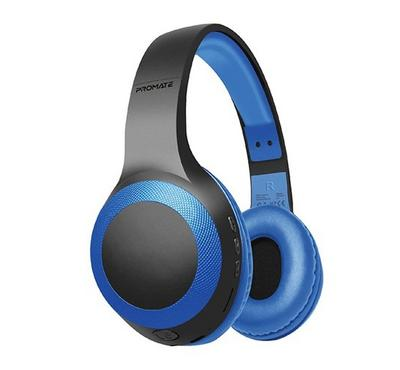 Promate, LABOCA Over-Ear Wireless Headset Gift Pack, Blue