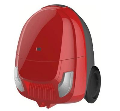 Midea, 1.3 ltr Vacuum Cleaner, Bag Type, 1400 Watts Power, Base head, Red