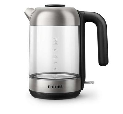 Philips Series 5000,  Kettle, 1.7L, 1850-2200W, Durable Crystal clear glass