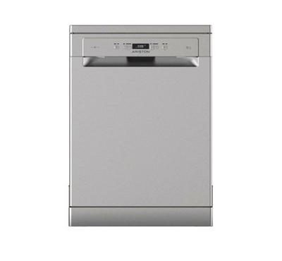 Ariston Dishwasher, 7 Programmes, 14 Place Settings, Silver